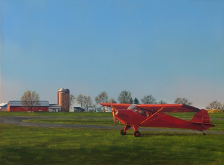 Pati O'Neal - Taylorcraft Heading Home